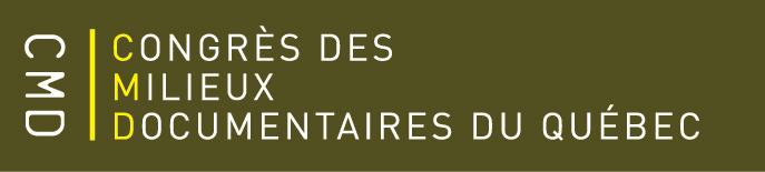 signature deu Congrès des milieux documentaires du Québec